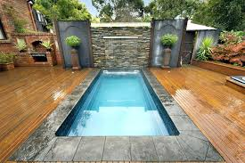 Backyard Pools Designs Beauteous Backyard Swimming Pools Designs Small Backyard With Pool Best Small