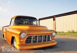 1955 Chevy Pickup - American Racing Wheels - Truckin' Magazine