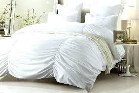 ruffle comforter king white ruffle duvet cover duvet covers ruched duvet cover king blue ruffle bedding