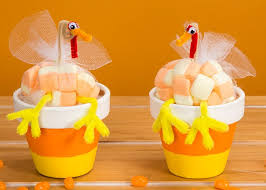 thanksgiving table favors. Candy Corn Turkey Treat Favors Thanksgiving Table