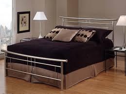 iron bedroom furniture sets. Amazon Com Hillsdale Furniture 1331bkr Soho Bed Set With Rails King Brushed Nickel Kitchen Dining Iron Bedroom Sets