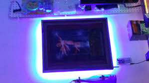 lighting frames. LED Light Picture Frame - Up You Or Art Work With Controlable Strip YouTube Lighting Frames H