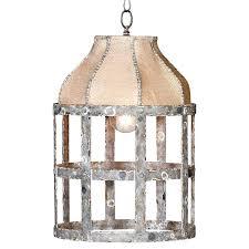 french country pendant lighting beautiful essential elegant cottage rustic iron burlap light5