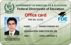 Cards Plastic In Islamabad Employee Get –