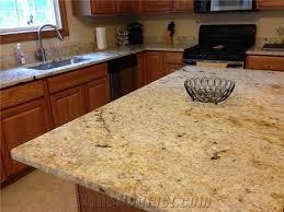 beautiful kitchen in aurora ohio done in colonial gold granite