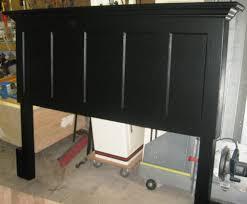 Five Panel Door Headboard Vintage Headboard Made From An Old 5 Panel Door Image By