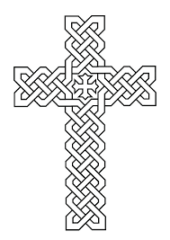 Cross Coloring Page Cross Coloring Page Printable Christian Pages