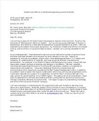 Sample Internship Letter Of Intent 5 Documents In Pdf