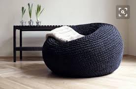 Large Pouf Chair