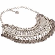 Talya Designs Made In Turkey Talya Coined Collar Necklace