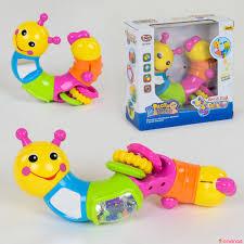 Развивающая игрушка <b>Веселая Гусеница</b> 9182 <b>Play Smart</b> (арт ...