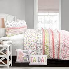 Soft Cotton Quilt Sets for Sale Online | Lush Décor |  ... & Fox Ruffle Stripe Quilt 5 Piece Set Adamdwight.com