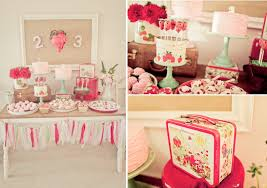 Vintage Strawberry Shortcake Themed Birthday Party Planning via Kara's Party  Ideas - www.KarasPartyIdeas.