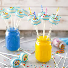 Birthday Cake Cake Pops What Should I Make For