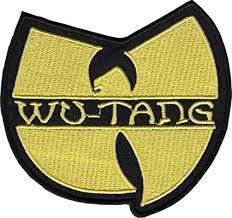 Wu-Tang Clan - Yellow Logo - Embroidered Iron on ... - Amazon.com