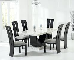 black marble dining room table dining room black marble dining table with 6 chairs furniture at from black marble dining room table and chairs