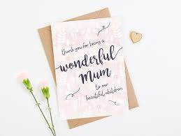 Mothers Day Card Wife Girlfriend Partner