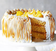 Lemon Meringue Cake Recipe Bbc Good Food