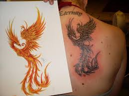 Tetování Fénix Tetování Tattoo