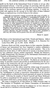 The Future of the International Legal Order: Trends and Patterns ...