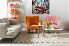 mid century modern sofa living room. Exellent Mid Retro U0026 Mid Century Modern Living Room Orange Armchair Pink Grey  Sectional Sofa Wood Top With Mid Century Modern Sofa Living Room Y