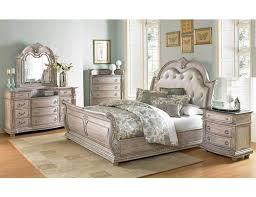 Palace Antique White Finish Bed