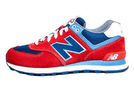 new balance shoes red and blue. new balance ml574ycr yacht club fire red royal blue men shoes,new factory, shoes and