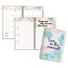 B Positive Desk Weekly Monthly Planner By At A Glance Aag187201