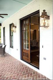outdoor front porch lighting front porch goals love the double wooden front doors and the porch outdoor front porch lighting