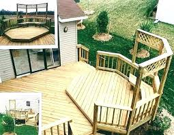 Decking Designs For Small Gardens Gorgeous Multilevel Deck Ideas Tfastl