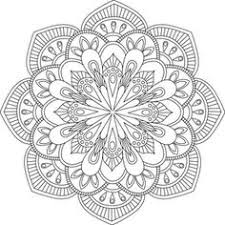 Small Picture Mandala Coloring Pages for Adults for Android iOS and Windows