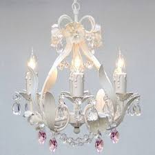 pink chandelier lighting. WHITE IRON CRYSTAL FLOWER CHANDELIER LIGHTING W/ PINK HEARTS!SWAG PLUG IN- Pink Chandelier Lighting A