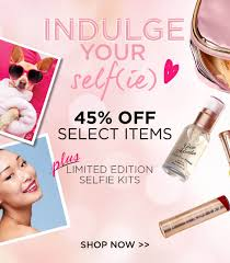indulge your selfie 45 off select items plus limited edition selfie kits
