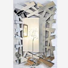 contemporary wall mirror large