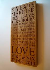 personalised wooden gifts wood anniversary gift ideas for her