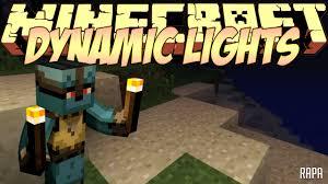 Minecraft 1 12 2 Dynamic Lights Minecraft Mods Showcase Dynamic Lights Mod 1 8 1 7 10 1 8 2 1 12 0