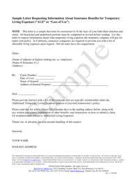 Sample Reimbursement Letters Fillable Online Uphelp Sample Letter Requesting Information
