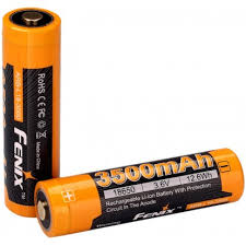 <b>18650 FENIX ARB</b>-<b>L18</b> RECHARGEABLE LI-ION <b>BATTERY ARB</b> ...