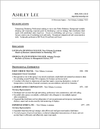 Resume Template Word Document Singapore