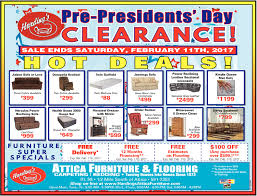 Presidents Day Clearance Harding s Attica Furniture And