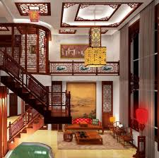 adorable elegant living room chinese style interior design with art paint wall decor as well yellow chinese living room decor