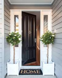 black and white entry always looks stylish door front doors with sidelights