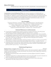 Gallery Of Graduate Nurse Resume Example Nursing Pinterest Home Cook