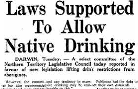 Aboriginal Creative Spirits Alcohol - Consumption