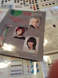Chi Hair Color Chart Details About Chi Haircolor Ionic Hair Color Booklet Chart