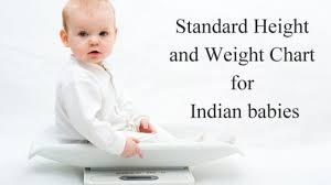 Age Wise Height And Weight Chart For Indian Baby Boys And