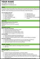 Exercise Science Resume Examples Career Development Esu