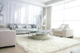 large white rug round white rugs big size rectangle white furry rug white big fur area