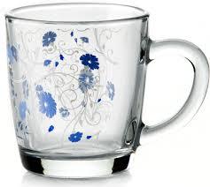 "<b>Кружка</b> Pasabahce ""Serenade"", цвет: голубой, прозрачный, <b>340</b> ..."