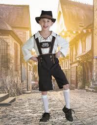 Boys Lederhosen Costume